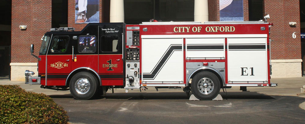 Oxford Fire Department Truck